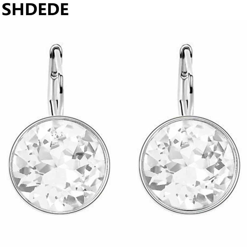 SHDEDE New Fashion Bijouterie Crystal fra Swarovski Elements høy kvalitet dingle øreringer smykker øreringer for kvinner -6323