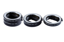 Original Viltrox DG-NEX Auto Focus AF Extension Tube Ring 10mm 16mm Set Metal Mount Lens Adapter for Sony E-mount Lens