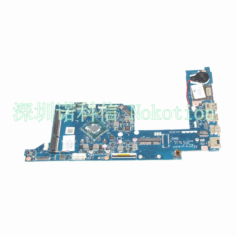 NOKOTION LA-B151P laptop motherboard for HP 11-N X360 789088-001 789089-001 N3540 cpu Mainboard FULL works nokotion la 5481p laptop motherboard for acer aspire 5516 5517 5532 mbpgy02001 mb pgy02 001 ddr2 free cpu mainboard