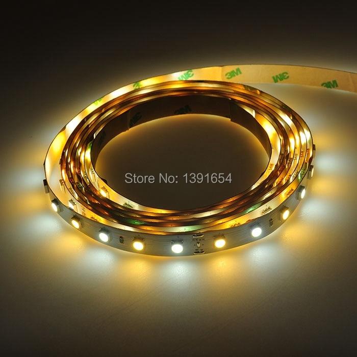 DC24V Double Color 5050 LED շերտի 300leds / 5M սպիտակ - LED լուսավորություն - Լուսանկար 1