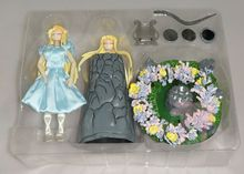 Figura de aficionados al modelo Saint Seiya, Myth Cloth, Eurydice, Lira, Orpheus Lover, contiene luz led
