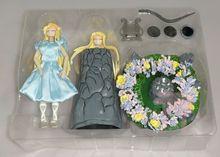 MODEL FANS Saint Seiya Myth Cloth Eurydice Lyre Orpheus Lover contain led light Figure