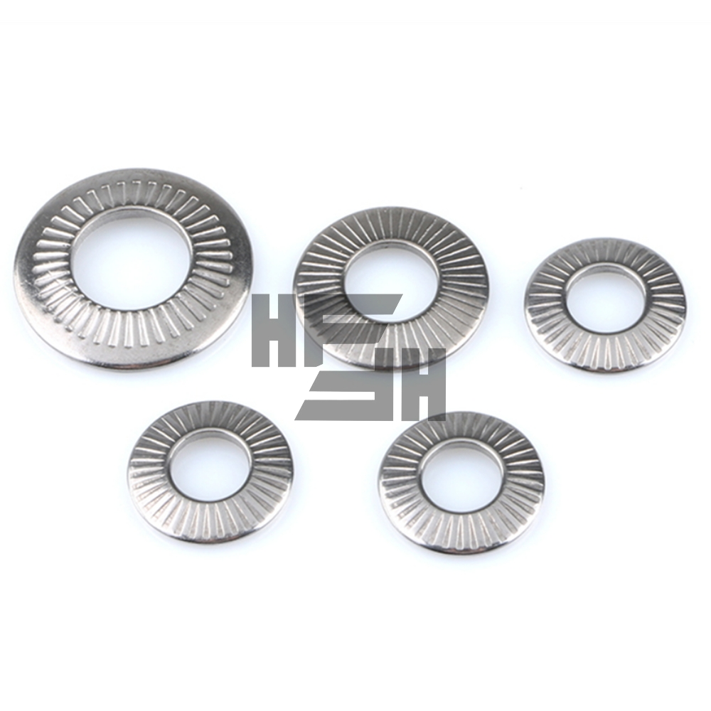 304 Stainless Steel Anti Loose Washer Anti Skid Pad With