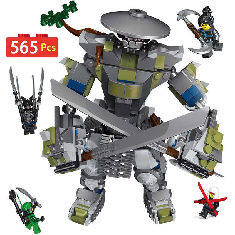 Fire Dragon Man Robots Friends Ninjagoed Series Building Blocks  Compatible with legoINGLYS  Bricks Figures Toys for Children