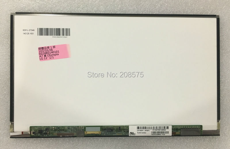 ФОТО Free shipping LD116WH1-SPN1 for HP notebook  30PIN EDP