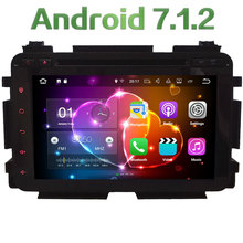 "8"" Android 7.1 Quad Core 2GB RAM 4G WiFi Multimedia Car DVD Player Radio Stereo GPS Navi Screen For Honda Vezel HRV 2013-2017"