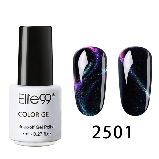 Elite99 7 ml Chameleon Katze Augen UV Gel Tränken Weg 3D Magnetische Nagel Gel Lack Long Lasting UV LED gel Nagellack Lack