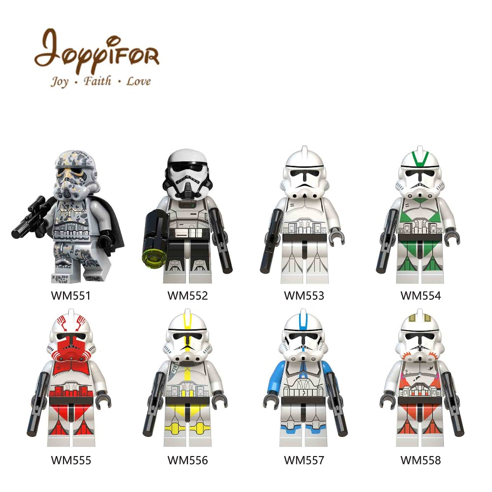 Joyyifor Imperial Redcoat Army Star way Soldier 8 /set  Building Blocks Compatible with Legoingly  Original brand WM6036Joyyifor Imperial Redcoat Army Star way Soldier 8 /set  Building Blocks Compatible with Legoingly  Original brand WM6036