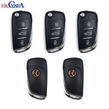 HKCYSEA 5pcs VVDI Super Remoto Sem Fio Universal 3 Botões VVDI2 DS Estilo Chave Do Carro Remoto para Xhorse VVDI MINI chave Ferramenta