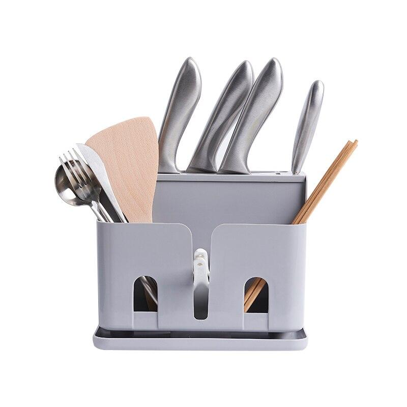 Kitchen Organizer Knife Spoon Storage Rack Flatware Shelf Holders Container Wholesale Stuff Products Accessories Supplies Stuff