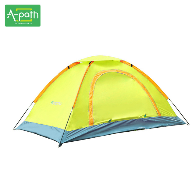 1-2 person multicolor outdoor Camping tent tourist double door Beach fishing tents travel equipment