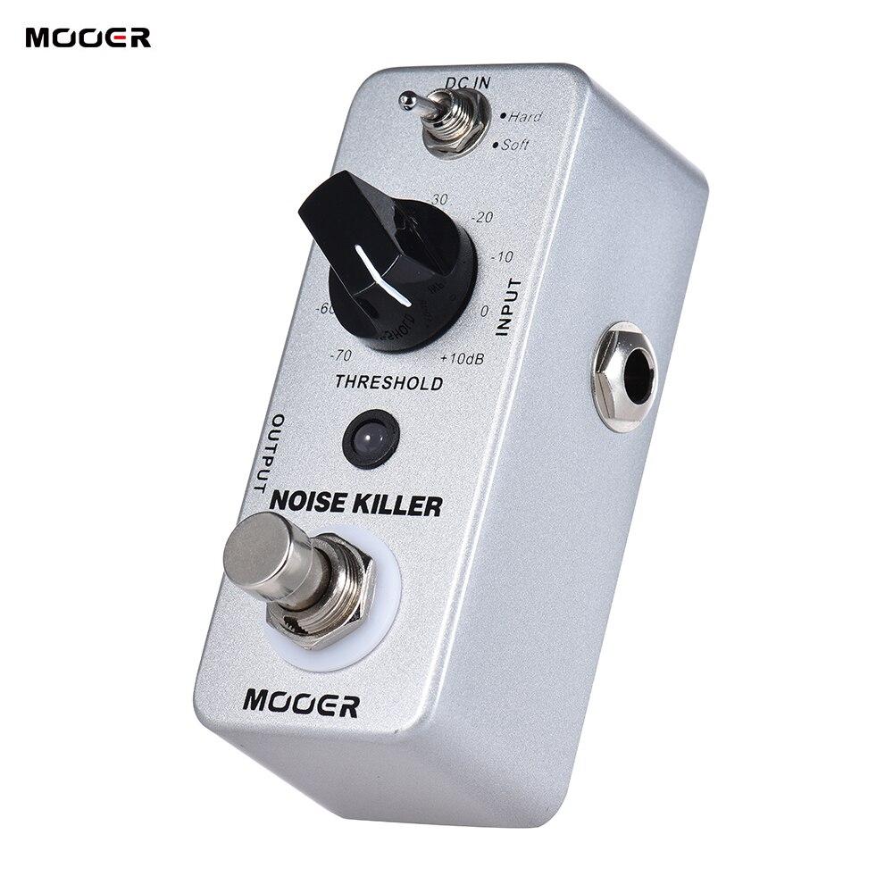 MOOER NOISE KILLER Mini Noise Reduction Guitar Effect Pedal 2 Modes True Bypass Full Metal Shell