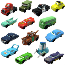 14 Pcs Disney Pixar Cars 3 Lighting McQueen Jackson Storm Lightning Cruz Ramirez Toys PVC Model Car Action Figures Gift for Kids