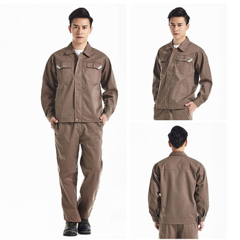 Men Women Work Clothes Workwear Sets Jacket Pants Auto Repair Working clothing Long Sleeve Wear-resistant Set Factory Uniforms