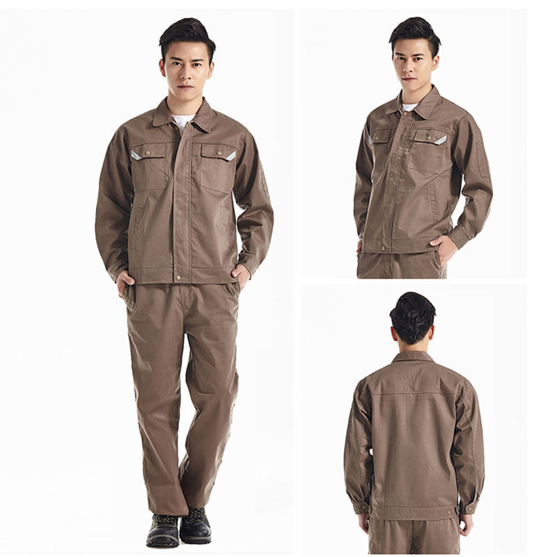 Men Women Work Clothes Workwear Sets Jacket Pants Auto Repair Working clothing Long Sleeve Wear-resistant Set Factory Uniforms 4 colors 2016 summer unisex popular breathable work clothing short sleeve workwear absorbent comfortable clothes for factory