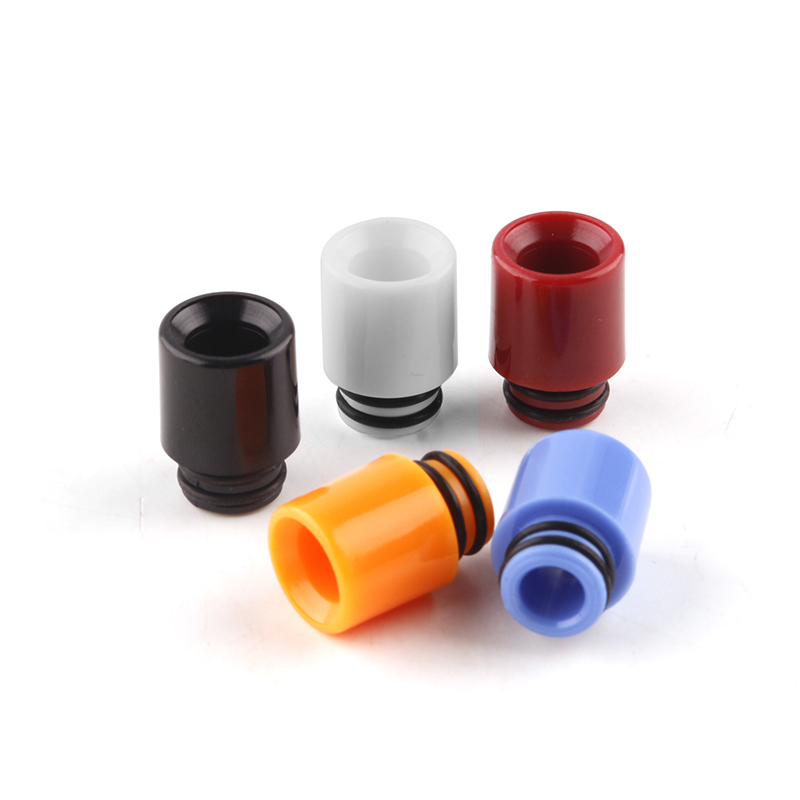 10pcs Plastic Vape 510 PC Drip Tip Wide Bore Mouthpiece