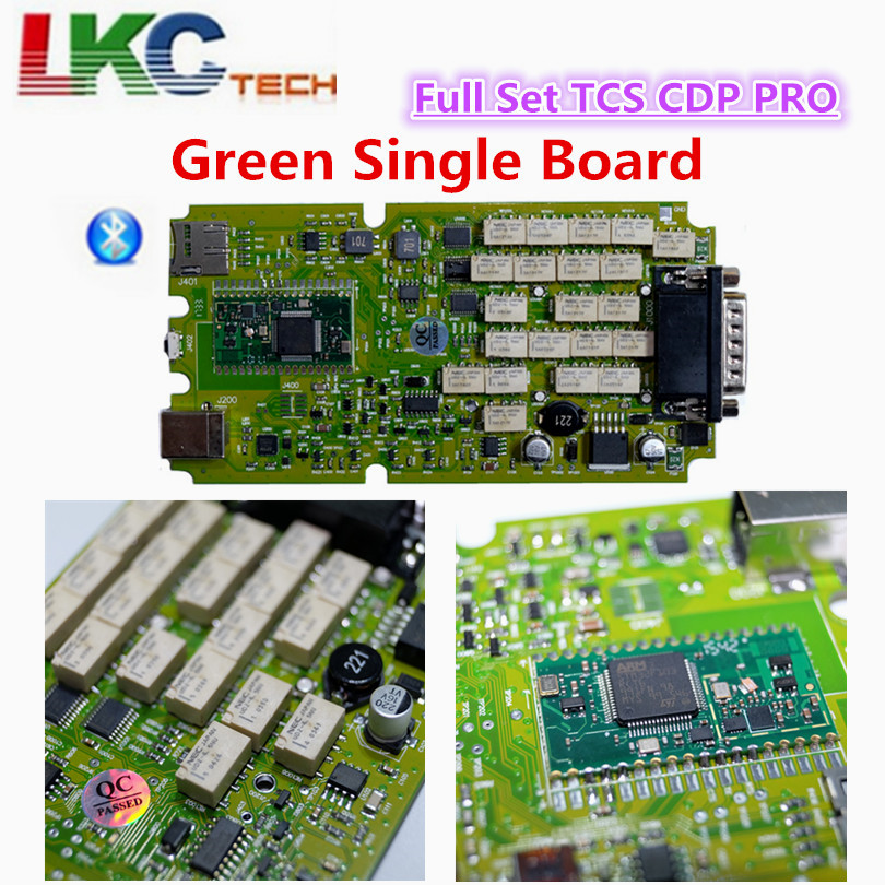 A++ Quality Single Board TCS CDP PRO PLUS 2015 R1 Newest for CARs/TRUCKs+Generic 3 in 1 New NEC Relays SCANNER Diagnostic Tool new arrival new vci cdp with best chip pcb board 3 0 version vd tcs cdp pro plus bluetooth for obd2 obdii cars and trucks