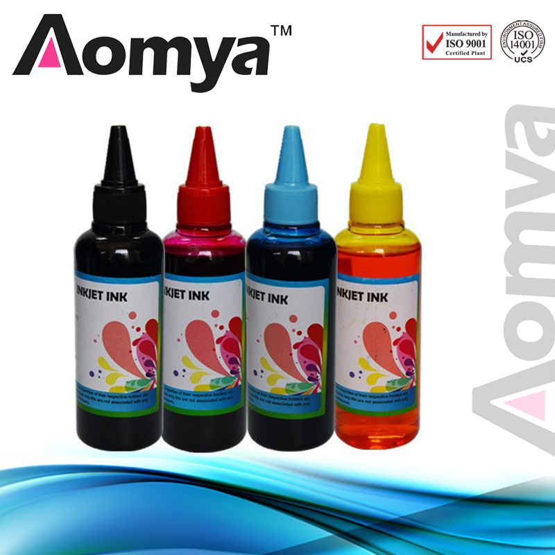 400ml Aomya Universal Dye Refill Ink kit Compatible For HP for Epson Ink for Canon inkjet for Dell Printer Ink & Ciss Ink [black ink] black refill ink for epson specialized for epson printer high quality dyebased ink