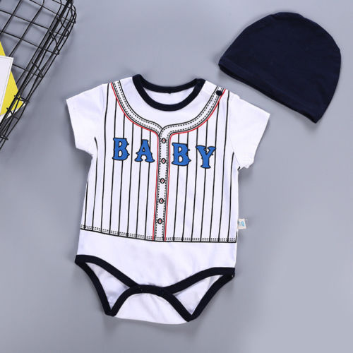 Outfits, Girl, Infant, Cotton, Bodysuit, Summer