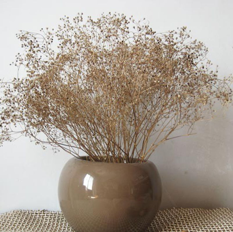 Home decoration flowers artificial flowers living room table naturally simple bouquet of dried flowers Starry trade