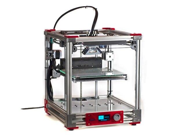 Blurolls offre Ultimaker 2 aluminium Extrusion 3D printerDIY kit 2020 extrusion, 3d pièces imprimées de bonne qualité