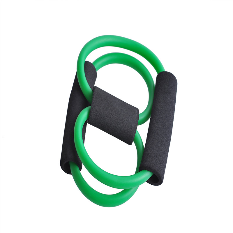 Hot Resistance 8 Type Muscle Chest Expander Rope Workout Pulling Exerciser Fitness Exercise Tube Sports Yoga Resistance Band