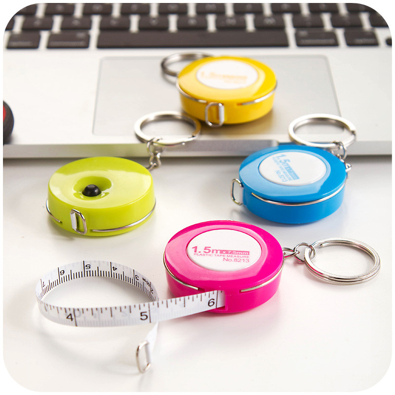Retractable Portable Ruler Tape Measure Cm Mini Measuring 1.5m
