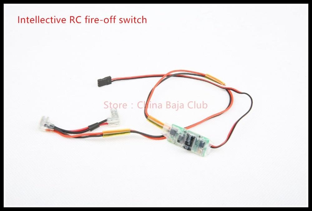 Remote Kill Switch Baja fit HPI Baja 5B, SS, 5T, 5SC, Losi 5ive-T, FG Marder, Rovan,Using 3rd Channel 63024