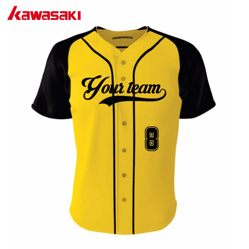 00025be81 Kawasaki Practice Baseball Jersey Kits Women& Mens Quick Dry Fans  Breathable Training Softball Top Jerseys Sport Shirts