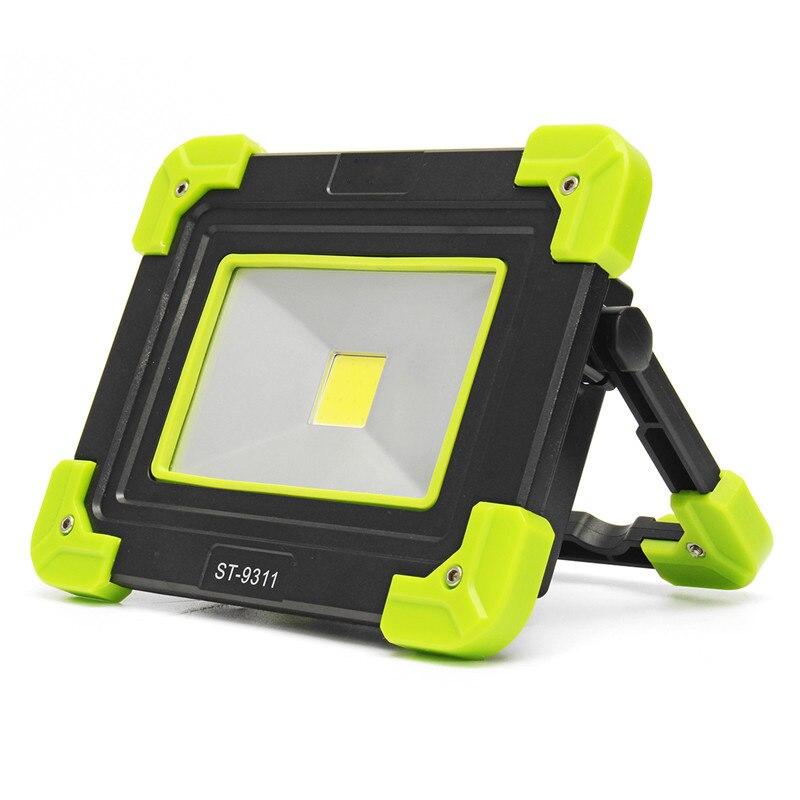 Mising 5 W COB Portable USB Camping Lampe de Travail Projecteur Lampe de Poche Extérieure Projecteur De Sécurité Avec USB pour Charger