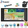 Podofo Car Radio GPS Navigation 7 HD 2 Din MP5 DVD Player WIFI Autoradio Car Audio