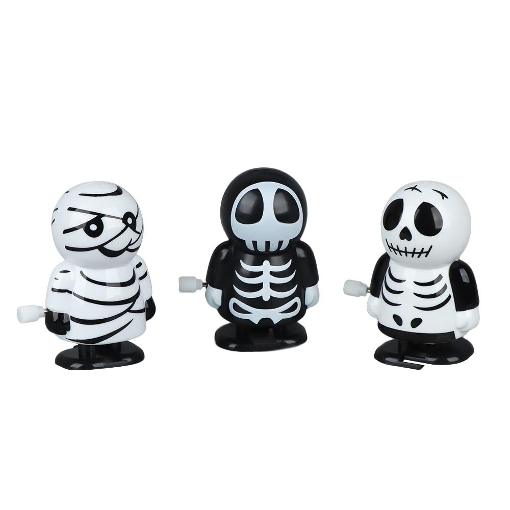 Funny Jumping Mummy Shape Clockwork Toys