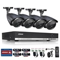 ANNKE 4 Крытый Открытый ИК Главная Видеонаблюдения Камеры Системы 4 CH 720 P AHD DVR HDMI