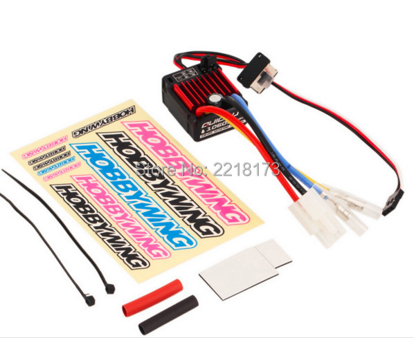100% original Hobbywing  QuicRun1:10 Brushed 60A Electronic Speed Controller ESC 1060With Switch Mode BEC  For RC Car