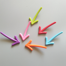 6 шт. качественная красочная стрелка магнитная наклейка на холодильник Доска сообщения магнитная наклейка магнит на холодильник интересный креативный