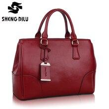 Easy To Carry Shipping Free  Original Designer 100% Genuine Leather Handbag For Women Fashion Lady's Bag Elegant Messenger Bag