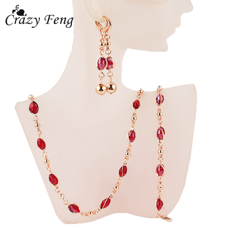 Women Goldcolor Red...