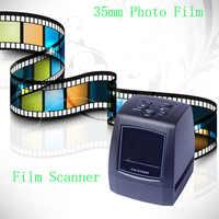 5MP 10MP 35mm przenośne karty SD skanery filmowe skanery negatywne Film slajdów skaner USB MSDC Film monochromatyczny slajdów FC718