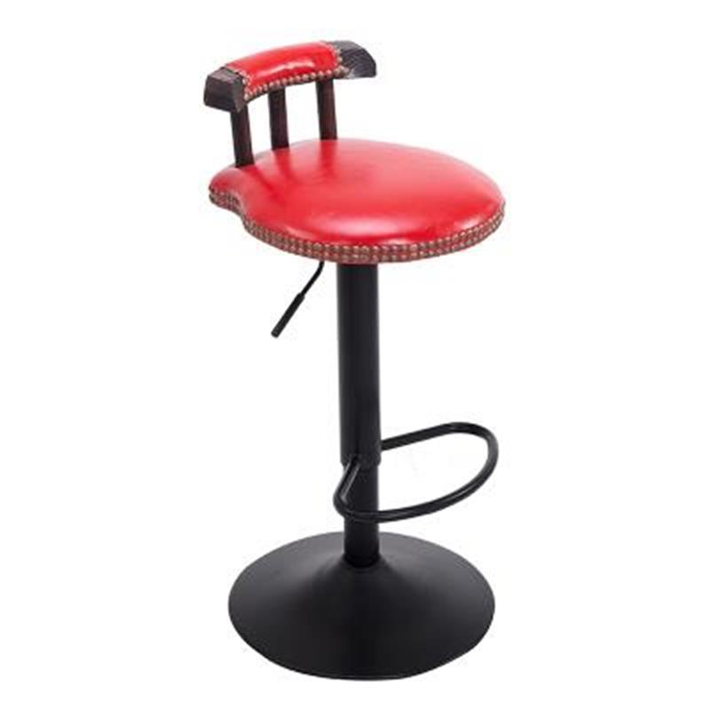 Купить с кэшбэком Cadir Sandalyeler Para Barra Bancos Moderno Table Barstool Tabouret De Industriel Leather Cadeira Silla Stool Modern Bar Chair