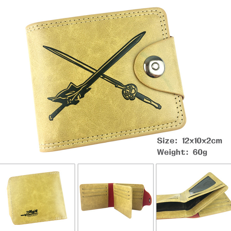 Sword god domain tong and her men leisure brief paragraph buckle purse/zero purse