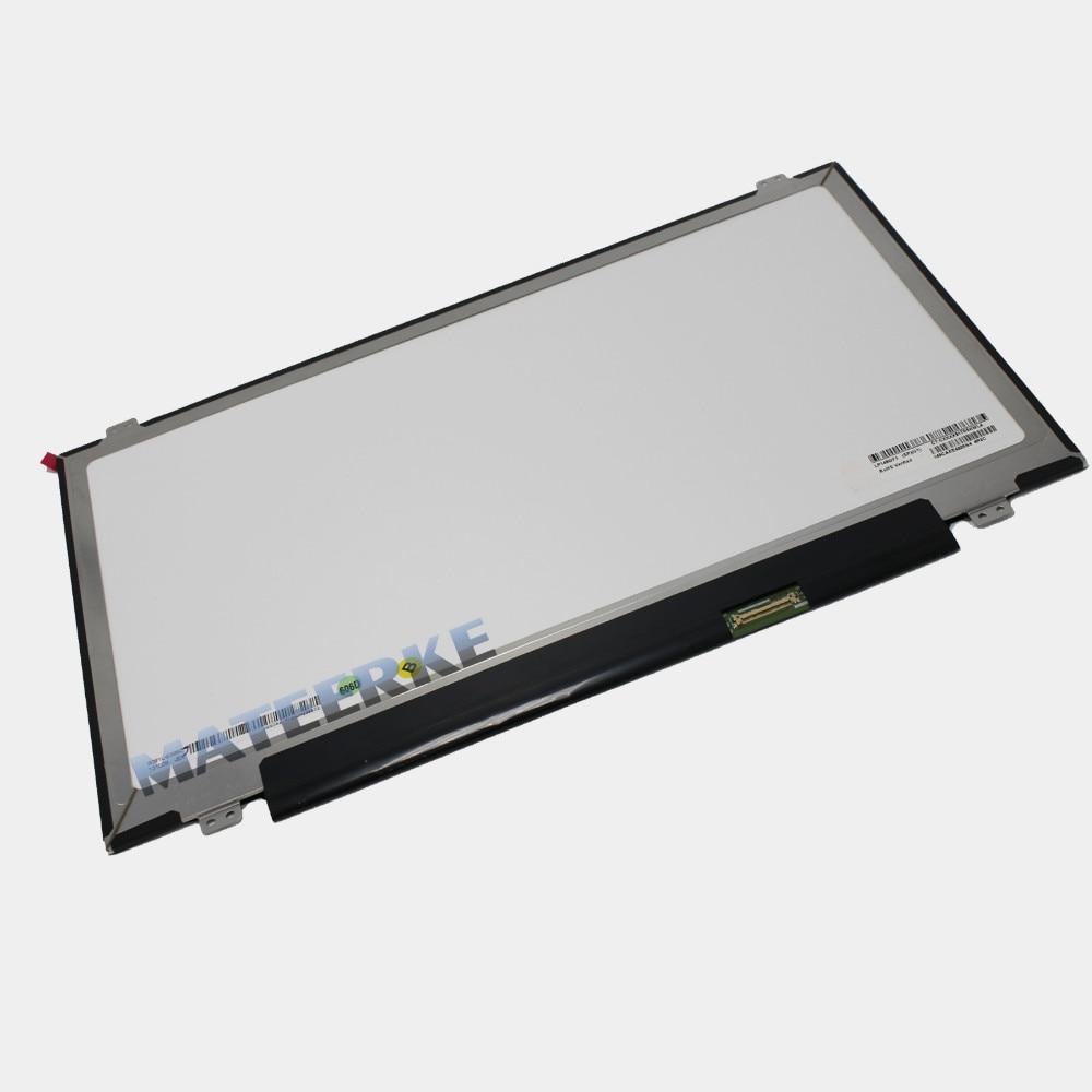 Original 14'' 1920*1080 FHD IPS LED  B140HAN01.1 30pin For Lenovo T440 Y40 LCD LED screen new original b140han01 3 fru 00ht622 for lenovo special ips screen fhd 1920 1080 edp 30 pin