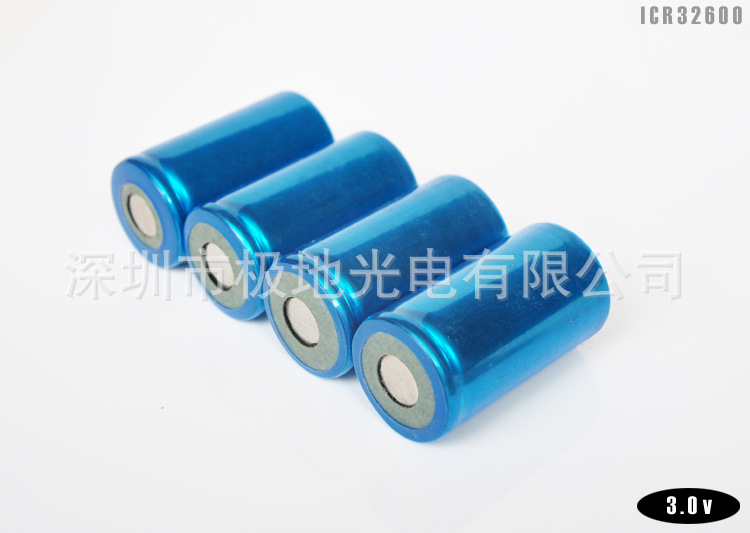 32600 Size 1/D LiFePO lithium iron phosphate 4000mAh 3.0V 10C 12C Rechargeable chargeable Battery for Power supply