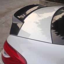 W218 стиль renntech FRP задний Автомобильный задний спойлер крыло для Mercedes Benz CLS W218 2011-2013