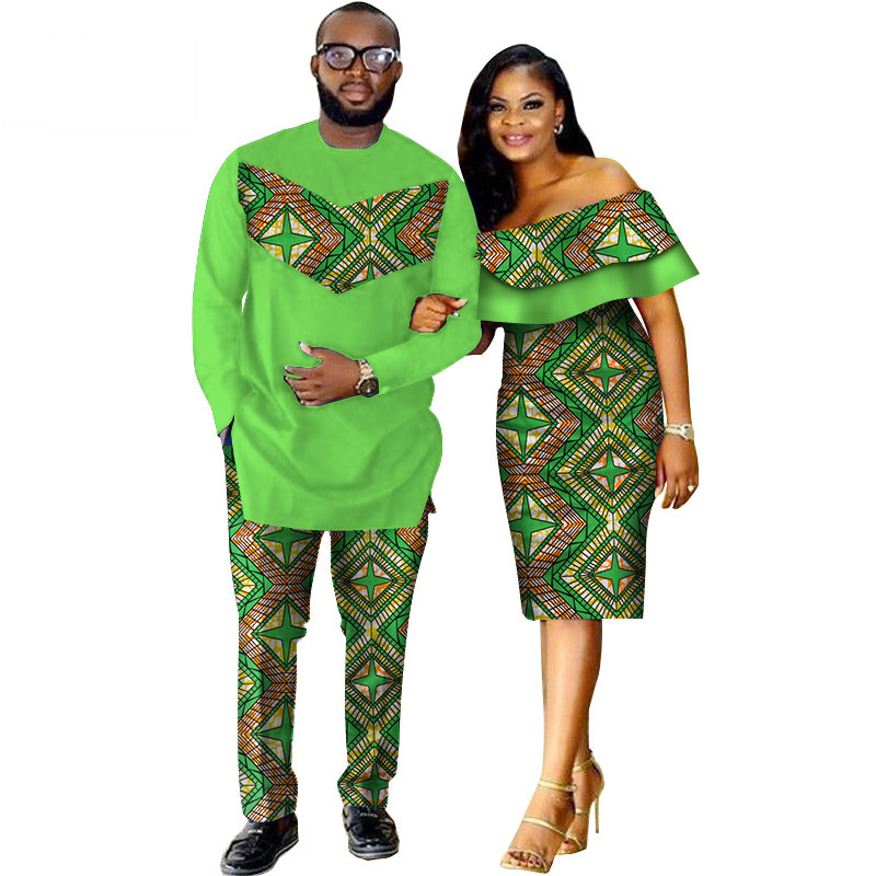 African-Dashiki-Print-Couple-Clothing-for-Lovers-Two-Piece-Set-Men-s-Suit-Plus-Women-s(10)
