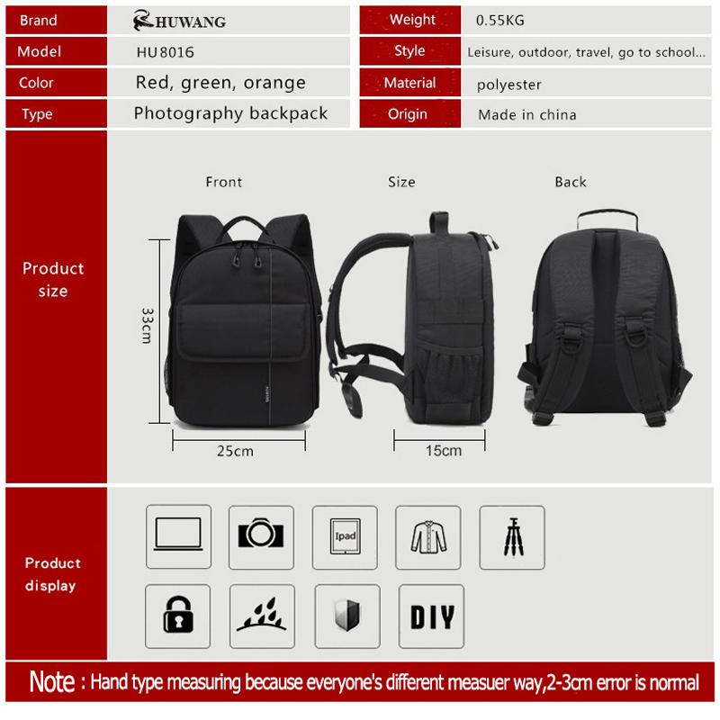 Camera Video Bag Backpack 6