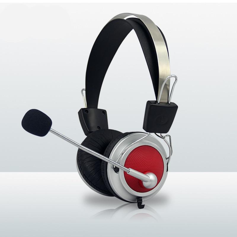 Haute Qualité Stéréo Basse Ordinateur Gaming Headset Casque Écouteur Avec Microphone Pour PC Téléphone Ordinateur Jeu pour Skype Jeux