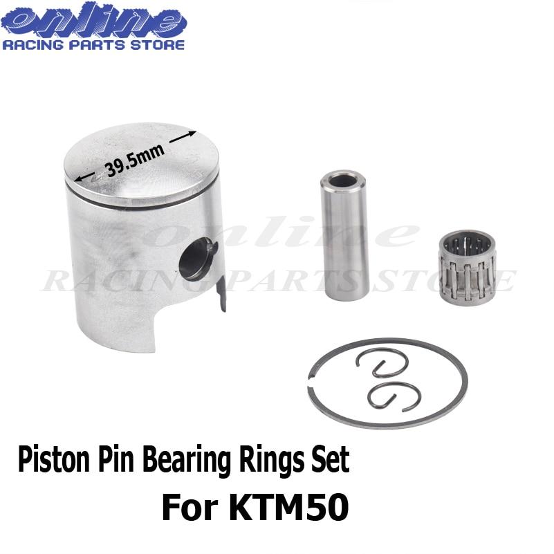 Axe de Piston Bagues de Roulement Ensemble pour KTM50 EXC SX MiniAdventure Principal ktm 50cc pit bike Jr Junior SX Aventure 2001 -2014 d'eau fraîche