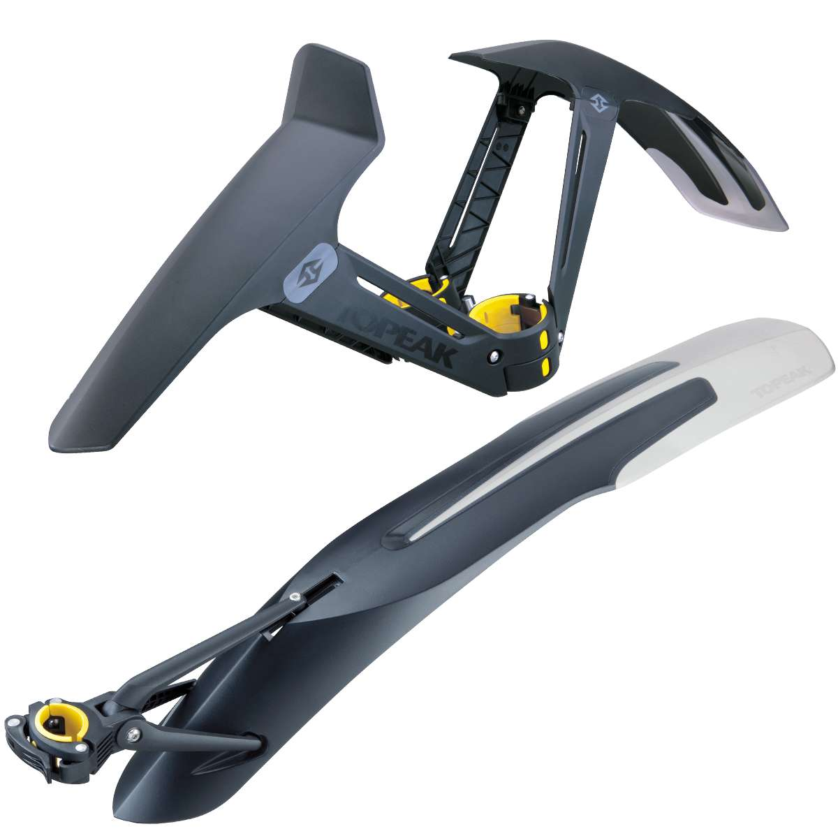 TOPEAK 26 27.5 29 Inch MTB Mudguard Bicycle Front Rear Wing For Bicycle Mud Guard Mountain title=