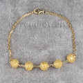 Gemstone Bracelet Jewelry 18kt Yellow Gold Shamballa Bracelets Micro Pave Setting Citrine Bracelet Fine Jewelry NA0020