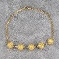 Pulseira de pedras preciosas jóias 18kt amarelo ouro pulseiras shamballa micro pave configuração citrino pulseira fine jewelry na0020
